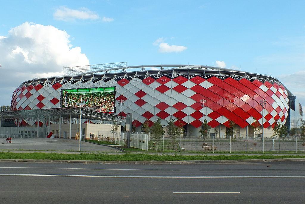Moscou – Estádio Spartak (Otkrytie Arena) - 45.360