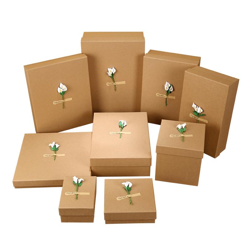 Custom-luxury-gift-brown-kraft-paper-box