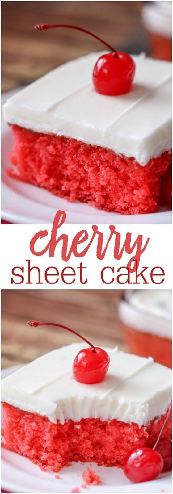 Cherry Sheet Cake Recipe