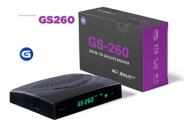 GLOBALSAT GS 260 NOVA ATUALIZAÇÃO V1.49 - 22/10/2020