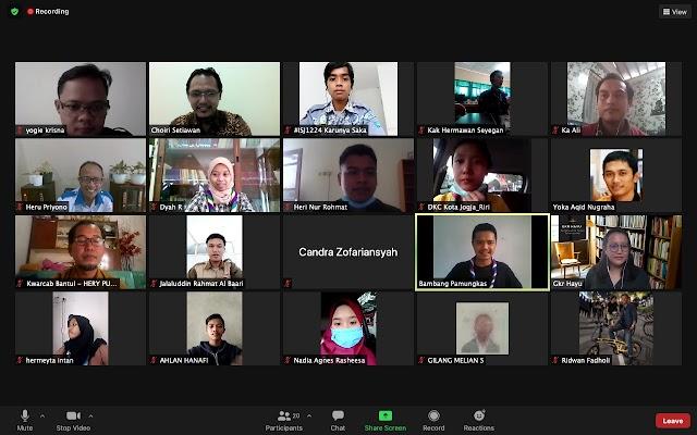 Kirim Perutusan Bimtek Jurnalistik, Kwarcab Gunungkidul Siap Kembangkan Tata Kelola Dokumentasi dan Publikasi