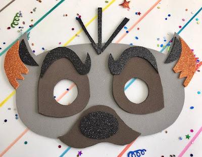 Máscara de hiena
