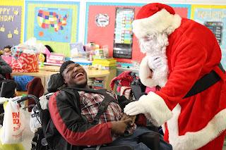 Montgomery Catholic Students Bring Christmas Joy to the Children's Center 3
