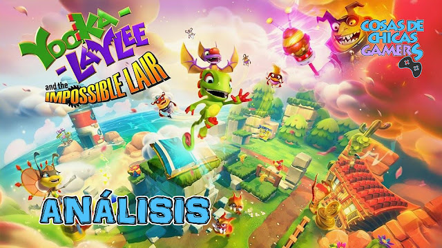 Análisis de Yooka-Laylee and the Impossible Lair en PS4.