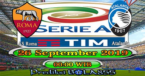 Prediksi Bola855 AS Roma vs Atalanta 26 September 2019