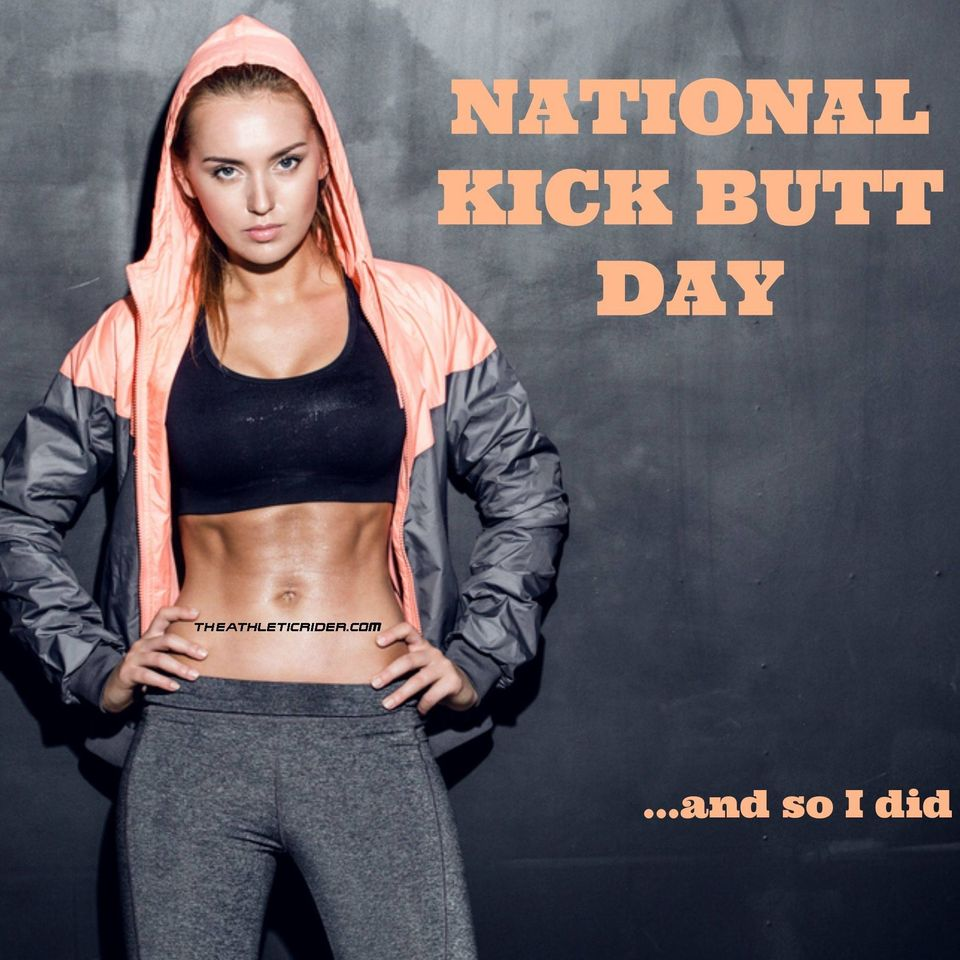 National Kick Butt Day Wishes Awesome Picture