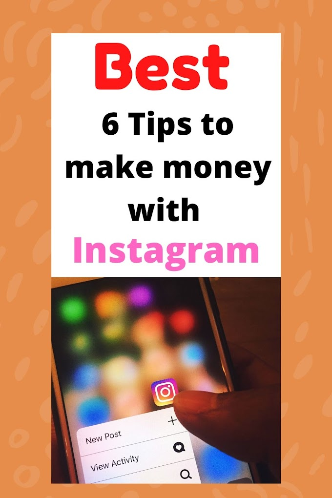 How to make money with instagram 6 business ideas