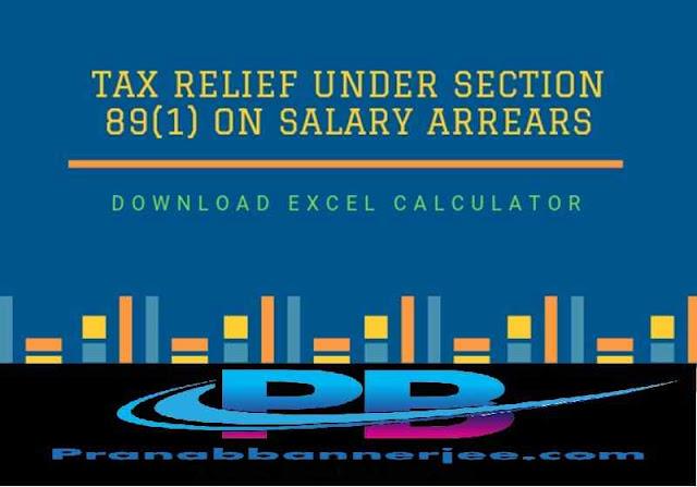 Income Tax Arrears Relief Form 10 E