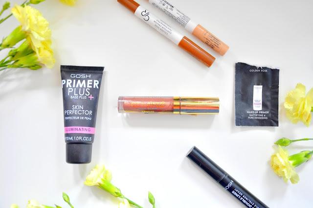 nowości kosmetyczne czerwca. makijaż i pielęgnacja. gosh, eveline, golden rose