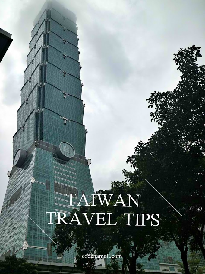 Taiwan Travel Tips for Filipino Travelers