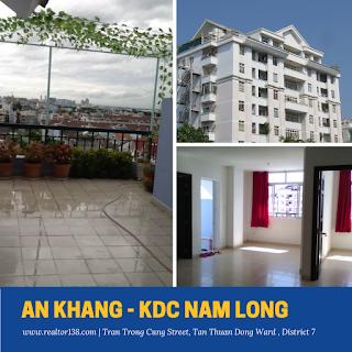 Cho thuê Penthouse chung cư An Khang khu Nam Long