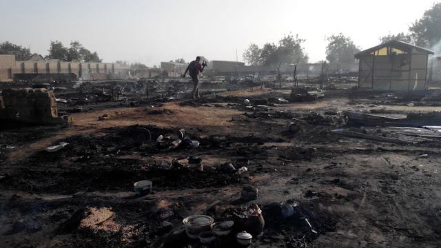 The Mubi mosque suicide attack kills at least 50