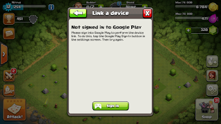 cara multiple accounts clash of clans