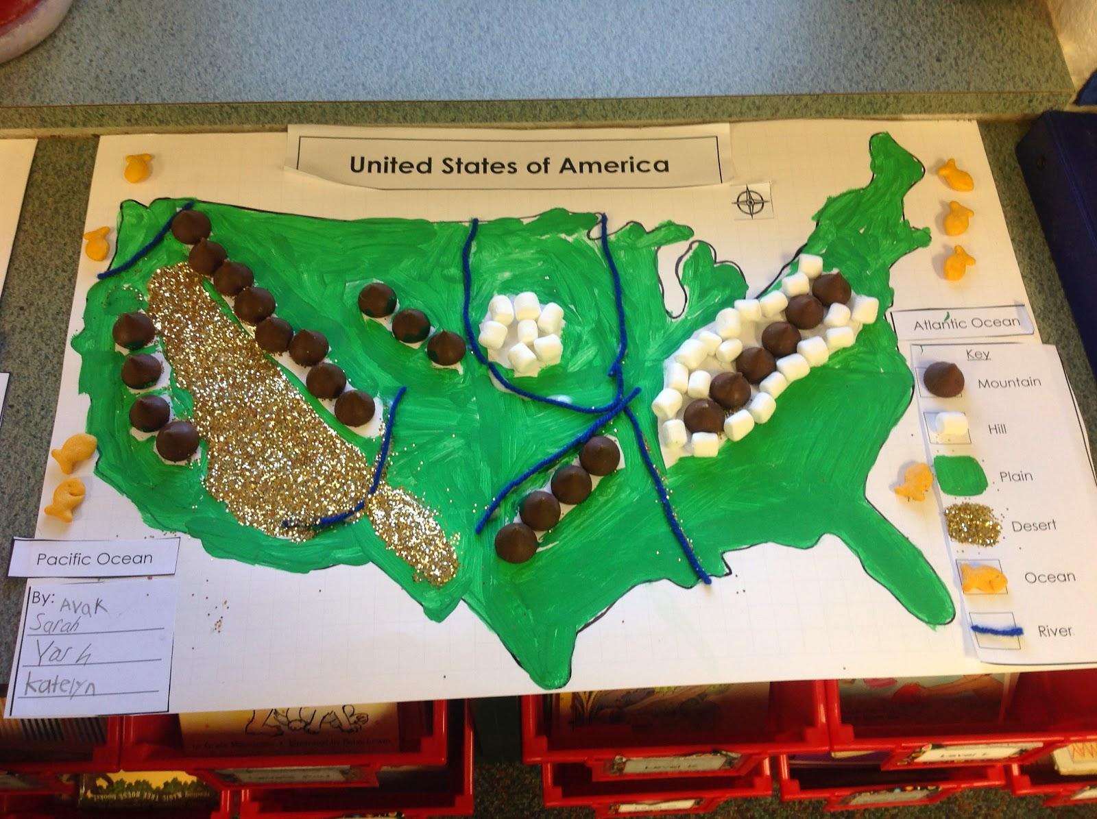 Texas History Classroom Decorations ~ The open door classroom d landform maps