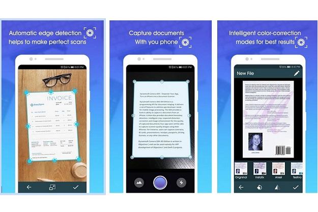 μετατροπή σελίδας σε PDF εύκολα με κάμερα