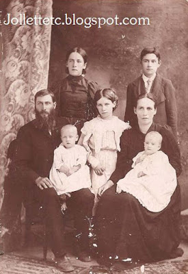 Jack and Emma Jollett Coleman family 1896 or 1897 https://jollettetc.blogspot.com