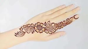 New Indian Henna Tattoo Mehndi Design make hand looking cool