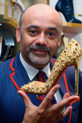 Christian Louboutin, designer de sapatos