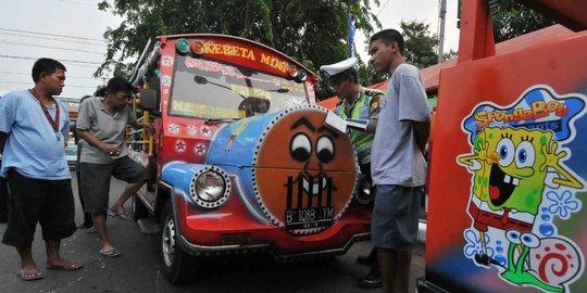 Odong-Odong Bakal Dilarang Beroperasi di Jakarta