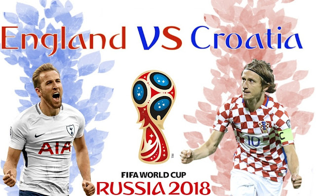 انجلترا وكرواتيا