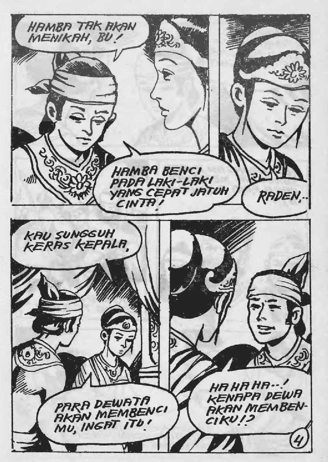 Komik Sangkuriang Part 1 Permainan Bocah