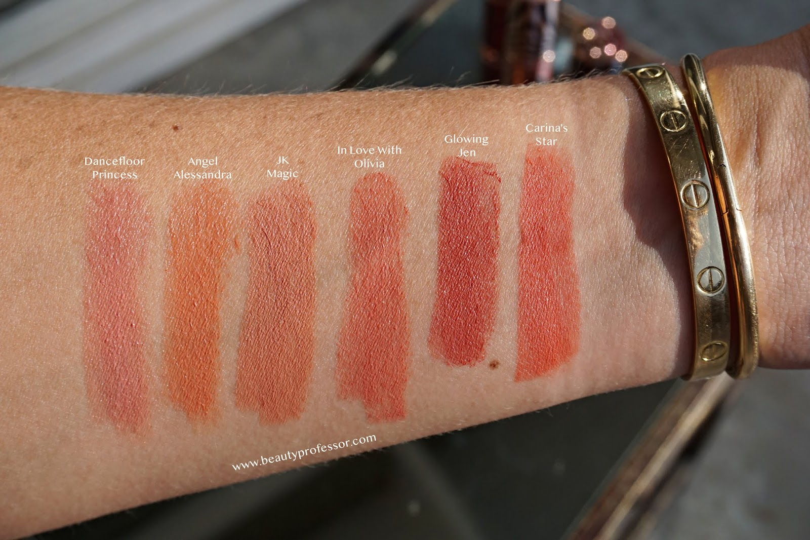 Charlotte tilbury hot lips 2 swatches