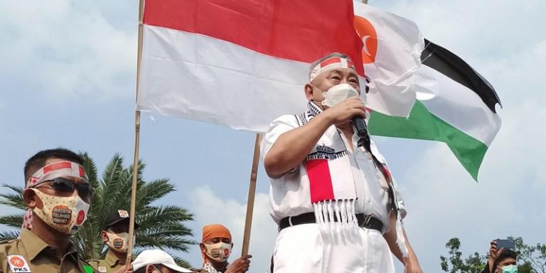 Sebut PKS Paling Serius Bela Palestina, Lieus Sungkharisma: Partai Lain Mana? Jangan Diem Aja!