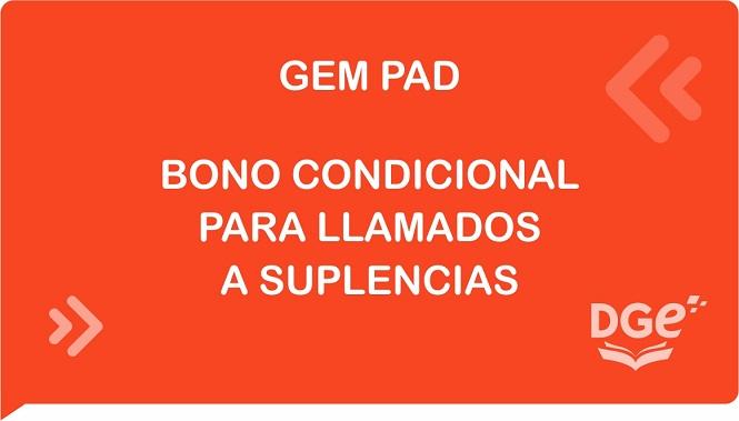Docentes de Mendoza ya pueden acceder al Bono Condicional en el sistema GEM PAD