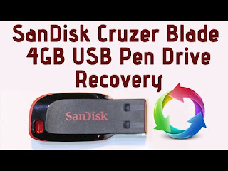 Sandisk Cruzer Blade recovery