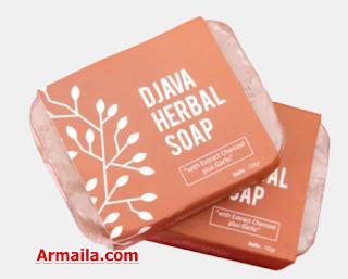 DJAVA Herbal Soap Charcoal Plus Garlic  ARMAILA DROPSHIPPER