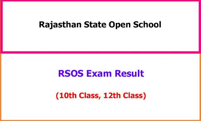 RSOS 10th 12th Exam Result