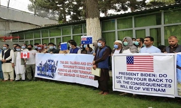 Afghan Citizens Loyal to America Were Transferred from Afghanistan to Washington with Their Families
