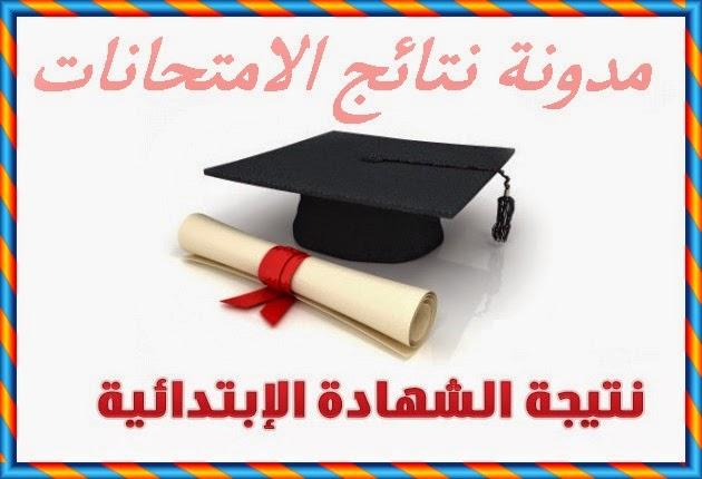 رابط نتيجة امتحانات الصف السادس الابتدائى محافظة سوهاج 2014 الترم الثانى