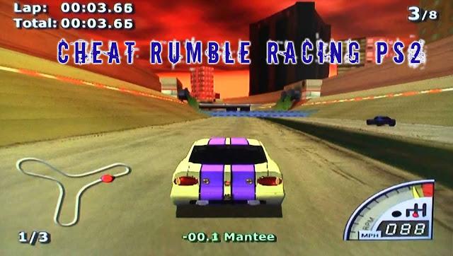 Kode Lengkap Cheat Rumble Racing Ps2 Semua Mobil Terbuka ~ Kumpulan cheat kode games
