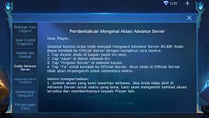Mobile Legends - Guide Advance Server