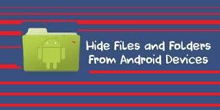 Android Me Personal Files Hide Kare Bina Kisi App Ke