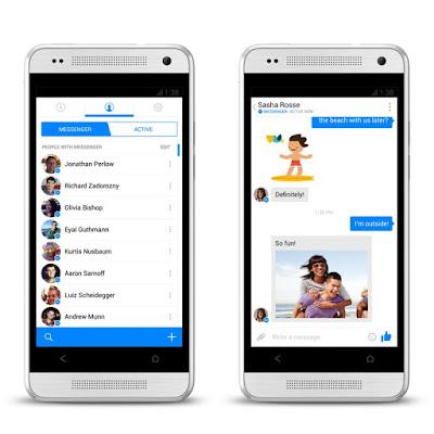 تحميل فيس بوك ماسنجر للكمبيوتر والموبايل 2018 Facebook Messenger