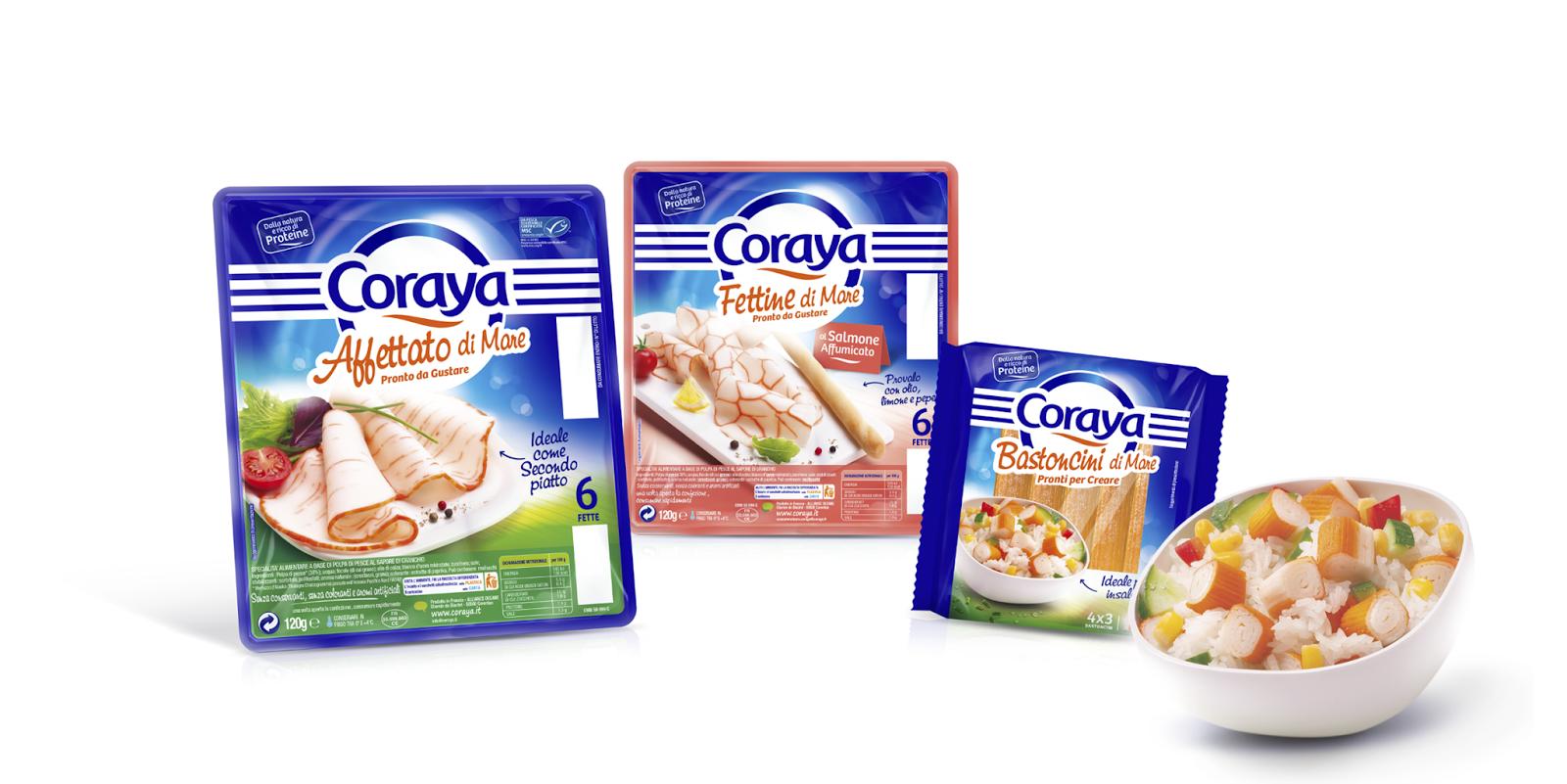 Coraya International Range On Packaging Of The World Creative