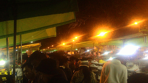 night market at Baguio