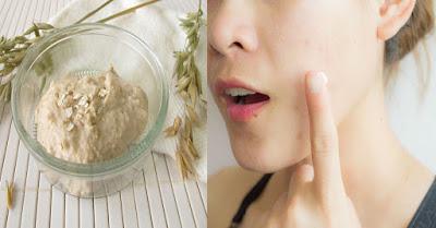 Un masque à l'avoine et au lait pour éclaircir la peau en 7 jours