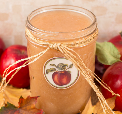 SLOW COOKER APPLESAUCE #apple #sauce #dinner #cooker #vegetarian