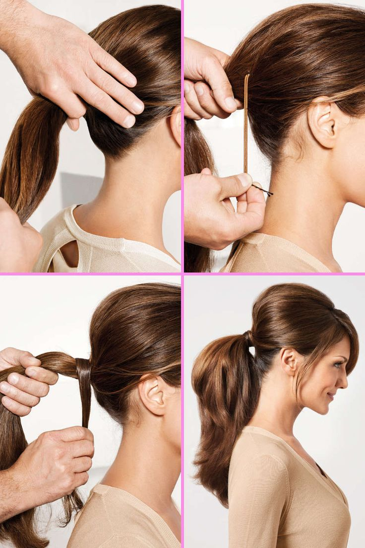 trick for tight bouffant ponytail - style hunt world
