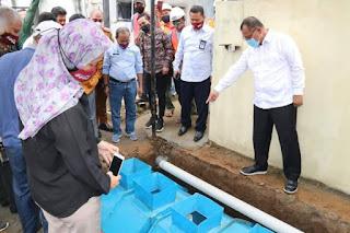 Hadiri Sosialisasi dan Pembangunan Percontohan Tangki Septik Kedap dan Sumur Resapan di SMK Asga Mandiri, Plt Wali Kota Medan: Program Ini Sangat Bagus
