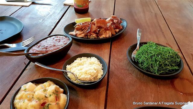 Porco San Zé, prato do restaurante A Casa do Porco, São Paulo