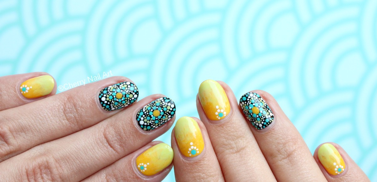 nail-art-points-dotting-mosaique-vernis-facile