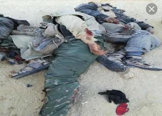"""عاجل الشرطة المصرية تقضي علي """"خلية ارهابية"""" بالعريش و""""مقتل11""""من عناصرها"""
