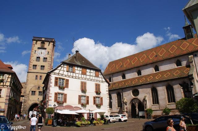 La Torre dei Macellai è uno dei simboli di Ribeauvillé