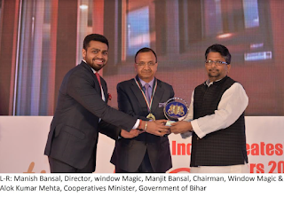 Window Magic named 'India's Greatest Brands and Leaders 2015-2016'