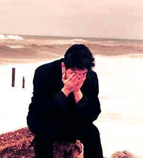 sad status boy photo