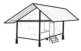 Image Result For Bentuk Atap Rumah Panjang Ke Samping